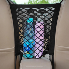 Sale!!! 30*23cm Universal Elastic Mesh Net Trunk Bag/Between Car organizer Seat Back Storage Mesh Net Bag Luggage Holder Pocket