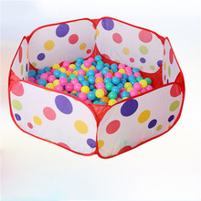 Children Kid Ocean Ball Pit Pool Game Play Tent Kids Indoor Gaming Playpen for Baby Pets Toys Storage Bag NO Balls Hot Sale(China)