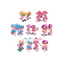 1Pair Lalaloopsy Cartoon Girls Hairbands Cute Headwear Hair Accessories PVC+Elastic Bands Kid Gift Party Favors Hair Jewelry