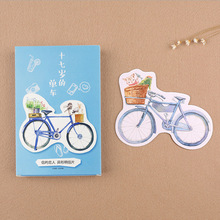 30 pcs/lot Novelty heteromorphism bicycle postcard Cycling greeting card christmas card birthday card gift cards(China)