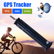5PCS a Lot 2017 New Mini SPY Bike GPS Tracker GPS305 GSM GPRS Quad Real-time Bicycle GPS TK305 Long Standby Time by DHL(China)