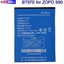 ZOPO 990 ZP990 Battery ZOPO C7 2X 990+ BT97S BT97T Batterie Bateria AKKU Accumulator 3000mAh
