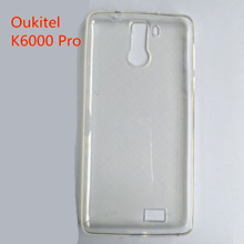 Ultra-thin Clear Crystal Soft TPU Phone House for Oukitel K6000 Pro Hot Selling Quality Transparent Back Cover Cases Accessories
