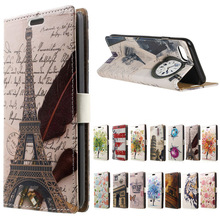 Buy Doogee Shoot 2 case Eiffel Tower Clock PU Leather wallet flip Stand cover case coque Doogee Shoot 2 shoot2 phone cases bags for $5.59 in AliExpress store