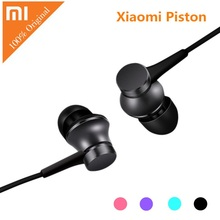 Original Xiaomi Piston Earphones Pink Blue Bass Earphone Basic Version Headset with Remote Micorphone for Mobile Phone for ipod