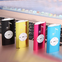 Mini USB Clip Digital Mp3 Music Player Support 16GB SD TF Card Supports USB 2.0/1.1 Support Connect with PC for Recharging