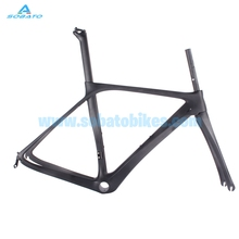 48cm bb386 full carbon fiber road frame ,2016 internal cable routing new style bicycle frameset ,frame fork full carbon(China)