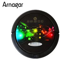Arnagar Robot Vacuum Cleaner Wet And Dry Mop Smartphone WIFI APP Control Robot With 150ml Water Tank,3350MAH lithium Battery