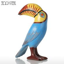 Tooarts Big Mouth Toucan Bird Resin Sculpture Fiberglass Ornament Home Decor Statue Figurine Abstract Exaggerate Modern Art(China)