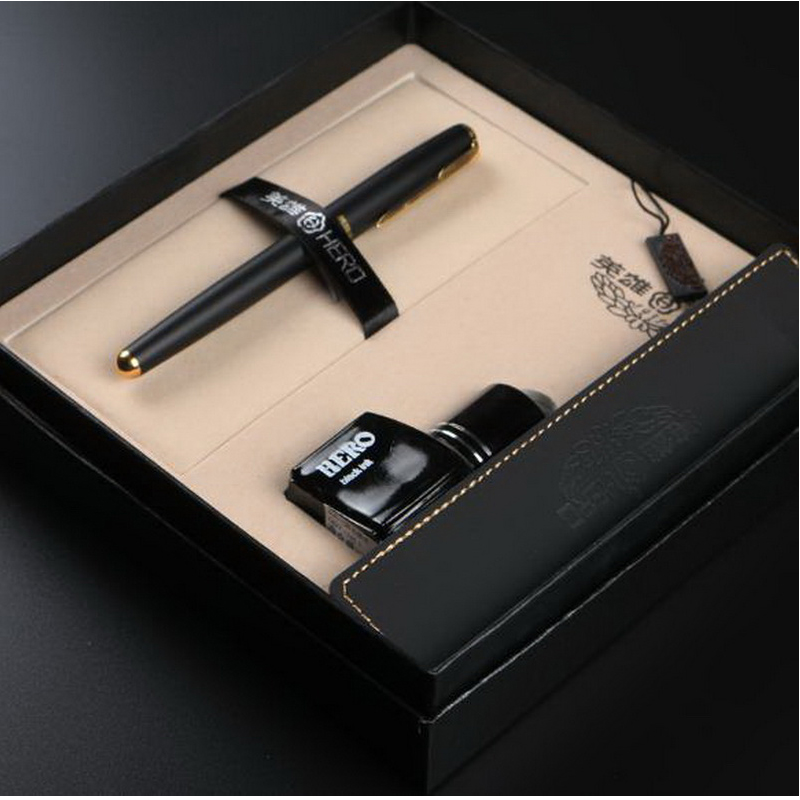 120715/Fountain pen set/ink quality gift box set/Men and women school students writing practice pen with office pen<br>