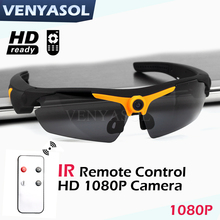 1080P Smart Mini Glasses Camera Video Recorder Camcorder Sunglasses Outdoor Action Sport driving DV Cam(China)