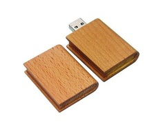 (Can customize LOGO) Wooden bible USB FLASH DRIVE Real capacity pen drive 4gb 8gb 16g 32G Pendrive book flash usb 100pcs/lot