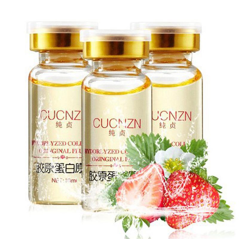 1PCS Collagen Liquid Face Cream Anti Aging Collagen Serum Anti-Fine-lines Whitening Cream Skin Care Moisturizing Renew Face Care 8