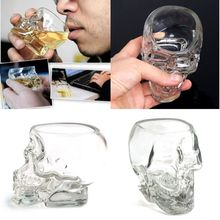 2017 New Crystal Skull Head Vodka Whiskey Shot Glass Cup Drinking Ware Home Bar Cup Mug 20off