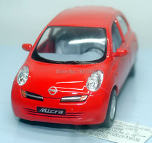 Brand New KT 1/28 Scale JAPAN NISSAN Micra Diecast Metal Pull Back Car Model Toy For Gift/Kids/Collection