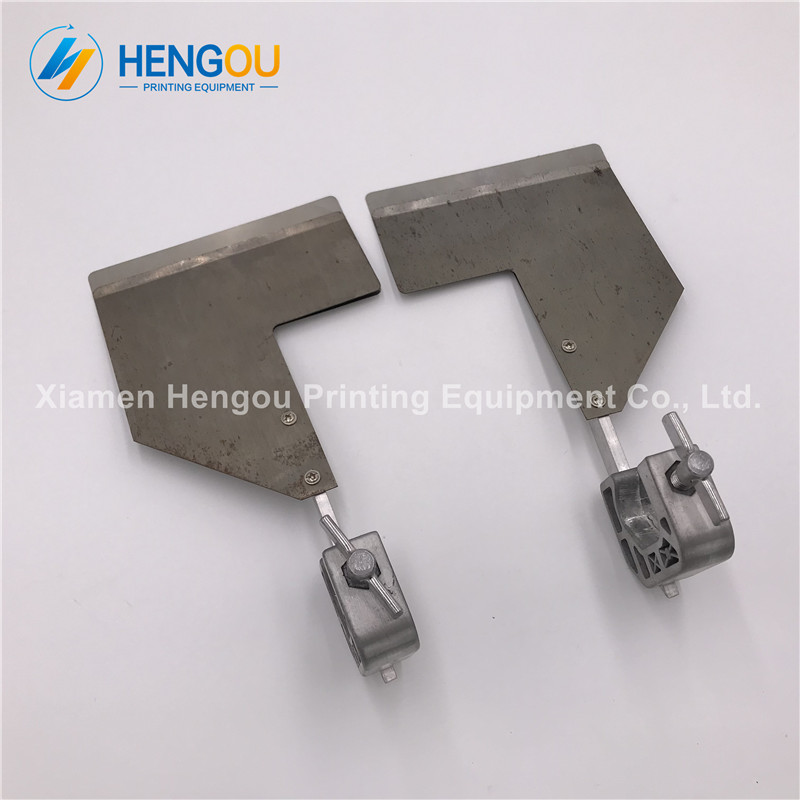 4 Pairs Hengoucn SM102 CD102 sheet smoother 22x12x7.5Hcm sheet separator C4.372.383F C4.372.384F