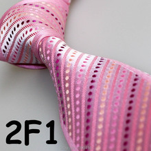 Cheap Sell ! 2017 Latest Style Popular/Good Quality/Fashion Light Pink/Purple/Beige Dot/Dual Front men luxury ties/elegant ties