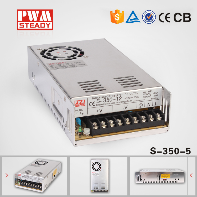 (S-350-5)  Cooling Fan Indoor style 350W 5V dc switching power supply<br><br>Aliexpress