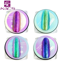 KADS 12 Color Mirror Powder Gold Pigment Ultrafine Powder Dust Chrome Pigment Nail Glitters Nail Sequins Nail Art Decorations 1g(China)