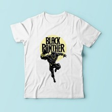 Black Panther Dora Milaje t shirt men JOLLYPEACH brand 2018 new white casual plus size tshirt homme no glue print t-shirt(China)