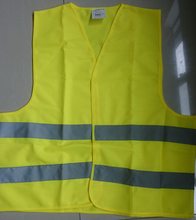 New 100% Polyester Multifunctional Reflective Safety Vest Orange High visibility Vest ISO EN471(China)