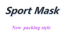 NEW packing style black High Altitude training Conditioning sport mask with box FREE SHIPPING(China)