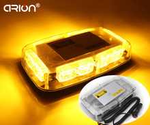 New 36W 36 LED Work Light Law Car Truck Vehicle Waterproof Emergency Warning Flashing Top Roof Mini Strobe Light Bar Lamp Amber