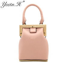 Yeetn.H Brand New Arrival Fashion Woman Bag PU Leather Candy Handbag Female Crossbody bag Casual For Women Drop Shipping M7499