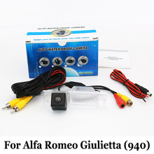 Car Parking Camera For Alfa Romeo Giulietta (940) / Wire Or Wireless HD Wide Lens Angle CCD Night Vision Rear View Camera