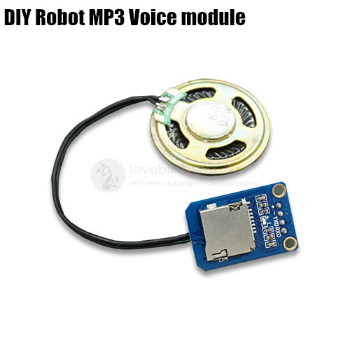 DIY Robot MP3 voice module Voice prompts control board for 20 and 32 channels servo control Arduin o and other MCU<br><br>Aliexpress