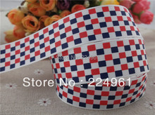 "2013 new arrival 1"" 25mm plaid printed grosgrain ribbon hair bows ribbon hairbows ribbons 10 yards"