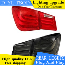 Car Styling Tail light Accessories for Chevrolet Cruze LED Taillights 12-14 Cruze Tail Lamp Rear Lamp DRL+Brake+Park+Signal led(China)