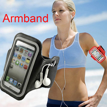 Waterproof Sports Running Armband ARM band Phone Case for iphone 5 5s se 6 6s 7 plus with 8 cool colors(China)