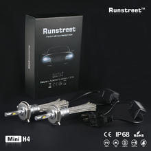 Runstreet(TM) Car LED Headlight Fog Light H1 H3 H4 H7 H11 9005 HB3 9006 HB4 9012 HIR2 Auto Bulb Lamp Replace Halogen Xenon HID