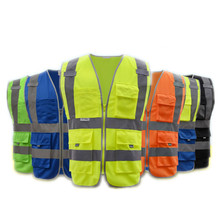 Wholesales Fashion Thicken reflective Worker Clothing Safety Mens Workwear Working Clothes Coveralls(China)
