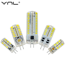 YNL LED G4 3014 SMD 3W 2W 1W DC 12V G4 LED Lamp 20W halogen lamp g4 led 12v Corn Bulb Silicone Lamps Chandeliers Lighting