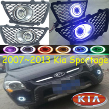 Sportage fog light 2007~2013 Free ship!Sportage daytime light,2ps/set+wire ON/OFF:Halogen/HID XENON+Ballast,Sportage