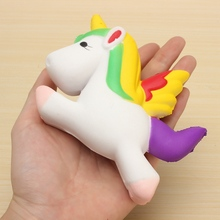 Wholesale Universal Doll 12CM for Unicorn Mochi Mobile Phone Strap Decompressio Cartoon Squeeze Collectible Child Toy Decoration