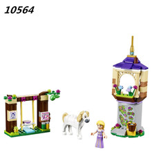 AIBOULLY 2017 New 10564 Girl Princess Series Castle Gardens Toys minis Toys Building Blocks Compatible With 41065 block P715