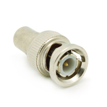 ALLiSHOP BNC Male to RCA Female Coax Cable Connector Adapter F/M Coupler for CCTV Camera BNC RCA Connector(China)