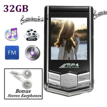 BCMaster 1.8 inches LCD 32GB MP3 4th Generation Music Media Player FM Radio with Mic Hifi Headphone Children Gift(China)