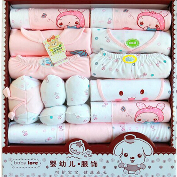 21PCS/Gift /Set  New  Baby Cotton Clothing Set /Newborn Hot Sales Gift / Infant Cute Clothes /  Free Shipping<br><br>Aliexpress