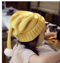 Fall and winter baby hair bulb knitted hats