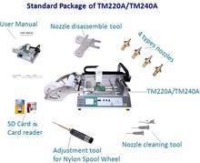 pick and place machine TM240A,Export spare kits,PCB,SMT,high precision,led,surface mounted technology,easy operate(Manufacturer)