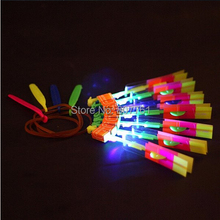 Wholesale - LED Illuminated Arrow Helicopter LED light toy gift kids christmas children's day M098