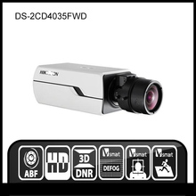 Hikvision DS-2CD4035FWD 3MP Smart IP Box Camera Auto Back Focus 12V PoE Security Camera(China)