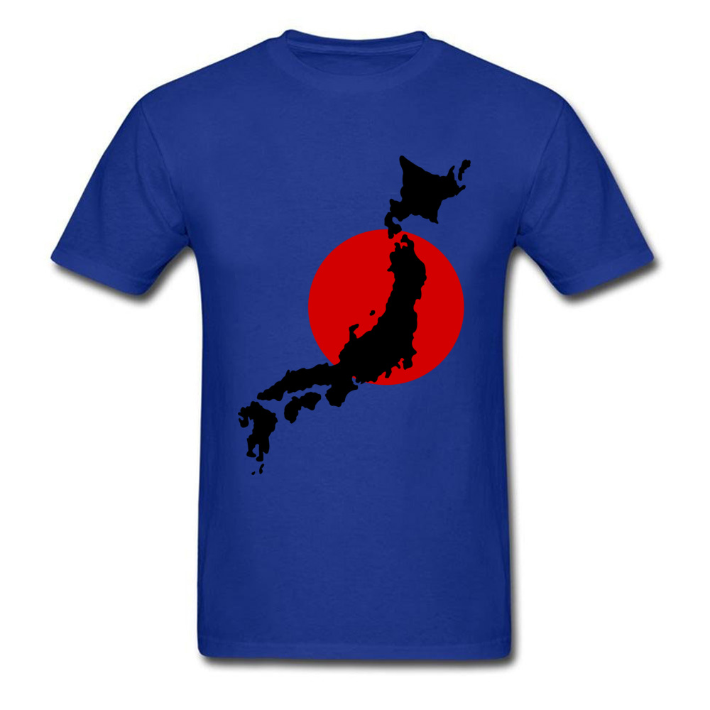 Japan Graphic Normal Summer Cotton Round Neck Men Tops Tees Birthday T Shirts On Sale Short Sleeve Tshirts Drop Shipping Japan Graphic blue