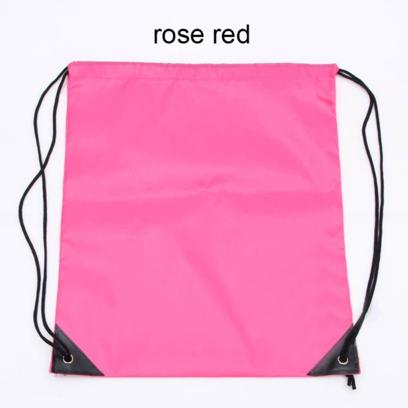 500pcs Nylon Drawstring Bag School Sport Bag Gym Swim Dance Shoes Backpack Rope Backpack Custom Bags Shoulder Bag Logo Printing Latest Fashion Storage Bags