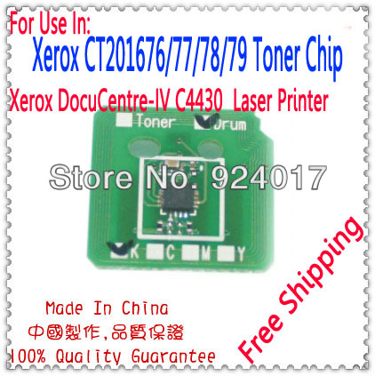 DocuCentre-IV C4430 Toner Chip For Xerox Printer,Use For Xerox DC-IV 4430 Toner Chip,Use For Xerox CT201676/77/78/79 Toner Chip<br>