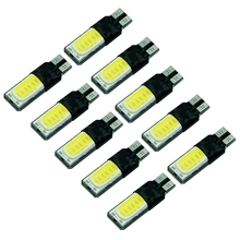 Latest styles 10 pcs Canbus T10 COB Interior lampada 194 168 W5W for replacing the reading light Car Styling @117(China)